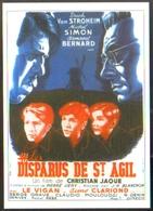 Carte Postale Illustration : Van D'or (cinéma Affiche Film) Les Disparus De St Agil (Michel Simon - Erich Von Stroheim) - Affiches Sur Carte
