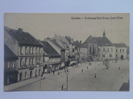 Czech M1 Komotau Chomotov 1921 Erzherzog Karl Franz Josef PLATZ - Czech Republic