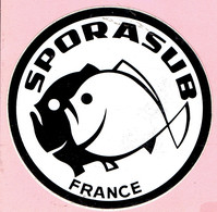 Sticker - SPORASUB - FRANCE - Autocollants