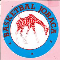 Sticker - BASKETBAL - JOBACA - Autocollants
