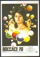 Carte Postale Illustration : Ferracci (cinéma Affiche Film) Boccace 70 (Sophia Loren - Anita Ekberg - Romy Schneider) - Affiches Sur Carte