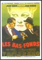 Carte Postale Illustration Jean-Adrien Mercier (cinéma Affiche Film) Les Bas-Fonds (Jean Gabin - Louis Jouvet) - Affiches Sur Carte
