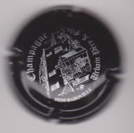 Capsule Champagne URBAIN P&F ( 6i ; Noir Et Argent )  {S21-19} - Champagne