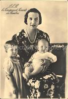 71863147 Adel Italien Principessa Di Piemonte Con Bambini Koenigshaeuser - Royal Families
