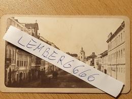 Lwow Lviv Lemberg Lwów  Ul Grodecka Kościół św Anny 1865 Foto K.F. Lang J. Jaskólski Galizien Galicja - Photographs