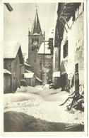 CPA DE MONTGENEVRE  (HAUTES ALPES)  L'EGLISE - Autres Communes