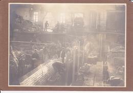 Aniche Industrie Mécanique Du Verre ( Photo Colée Sur Carton ) - Photographs