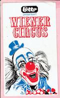 Sticker - Lotto Presenteert Wiener Circus Clown - Autocollants