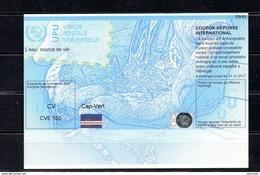 9161 IRC IAS CRI - International Reply Coupon - Antwortschein T37 Kap Verde, Cap-Vert, CVE 150 CV 20130513 AA - Kap Verde