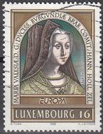 Luxembourg 1996 Michel 1390 O Cote (2008) 1.20 Euro Europa CEPT Marie De Bourgogne - Luxembourg