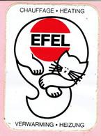 Sticker - EFEL - Verwarming Heizung - Autocollants