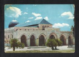 Jerusalem Old Mosque El Aksa Picture Postcard Jordan - Palestine