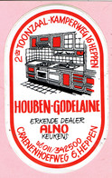 Sticker - Alno Keukens - HOUBEN GODELAINE - HEPPEN - Autocollants