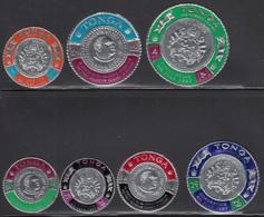 Tonga 1967 MH Sc 175-181, C27-C33 King Taufa'ahau IV Coronation - Tonga (...-1970)
