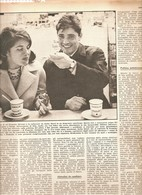 (pagine-pages)SACHA DISTEL     Settimanaincom1961/18. - Libri, Riviste, Fumetti