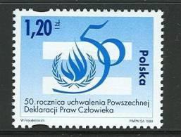 POLAND 1998 MICHEL NO: 3736  STAMP  MNH - 1944-.... Republic