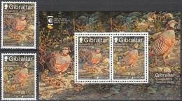 2019 - GIBILTERRA / GIBRALTAR - EUROPA  CEPT - UCCELLI / BIRDS - SET COMPLETO. MNH. - 2019