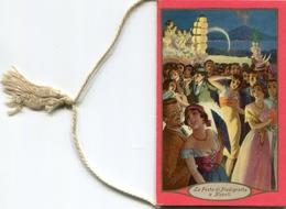 "Calendario-Calendarietto-Calendrier-Kalender-Calendar-1934 ""Festa A Napoli E Roma""Completo- Integro E Originale 100% - Calendars"