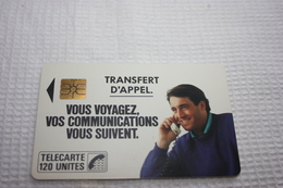 Télécarte France  F19 TRANSFERT D'APPEL  120u  SO2   LUXE - Frankrijk