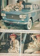 (pagine-pages)FIAT 1300     Settimanaincom1961/18. - Libri, Riviste, Fumetti