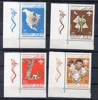 MAHRA STATE - 1967 - WORLD JAMBOREE 1967 - JAMBOREE MONDIAL 1967 - SCOUTISME - SCOUTING - - Stamps