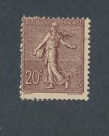 FRANCE - N°YT 131 NEUF** SANS CHARNIERE AVEC LEGER PIQUAGE NORD/SUD - COTE YT : 190€ - 1906 - 1903-60 Semeuse Lignée