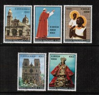 VATICAN  Scott # 495-9* VF MINT HINGED (Stamp Scan # 507) - Unused Stamps