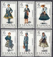 ESPAÑA - SPAGNA - SPAIN - ESPAGNE- 1968 - Serie Completa Di 6 Valori Nuovi MNH: Yvert 1498/1503. - 1931-Oggi: 2. Rep. - ... Juan Carlos I