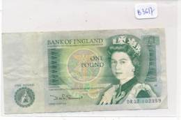 Numismatique -B3617-Grande Bretagne -1 Pound ( Catégorie,  Nature état ... Se Référer Au Double Scan)-Envoi Gratuit - Other - Europe