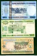 Rwanda  3  Billets - Rwanda