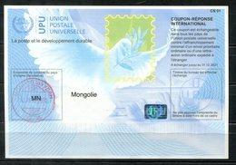 4084 - IRC IAS CRI - International Reply Coupon - Antwortschein T40 MONGOLEI MONGOLIA Gestempelt MN...074 AA - Mongolei
