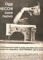 (pagine-pages)PUBBLICITA' NECCHI     Settimanaincom1961/18. - Libri, Riviste, Fumetti