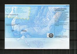 7031 IRC IAS CRI - International Reply Coupon - Antwortschein T36 Ghana  GH20130729AA - Ghana (1957-...)
