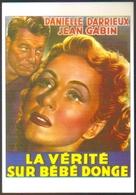 Carte Postale (cinéma Affiche Film) La Vérité Sur Bébé Donge (Jean Gabin - Danielle Darrieux) - Affiches Sur Carte