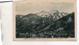 IL BACINO DI CASTERINO PANORAMA VIAGG 1933 - Cuneo