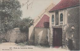 CPA Gif - Porte De L'ancienne Abbaye (carte Colorisée) - Gif Sur Yvette