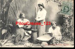 "SRI LANKA CEYLON - "" Singhalese Woman Ceylan "" - RARE - Sri Lanka (Ceylon)"