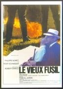 Carte Postale Illustration Jouineau Et Bourduge (cinéma Affiche Film) Le Vieux Fusil (Romy Schneider - Philippe Noiret) - Affiches Sur Carte