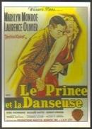 Carte Postale Illustration Mascii (cinéma Affiche Film) Le Prince Et La Danseuse (Marilyn Monroe - Laurence Olivier) - Plakate Auf Karten