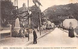 BEURE - Le Monument Aux Morts - Très Bon état - France