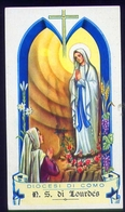 Santino - Diocesi Di Como - N.s. Di Lourdes - Fe1 - Santini