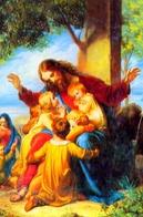 Santino - Gesù Con Fangiulli - Fe1 - Santini
