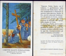Santino - I Sette Santi Fondatori - Monte Senario - Fe1 - Santini