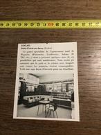 ANNEES 60 PUBLICITE SOGAD SAINT PRIEST EN JAREZ STAND EXPOSITION - Alte Papiere