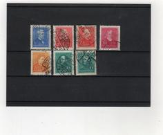 HONGRIE    1932-37  Y. T.  N° 449  à  460  Incomplet  Oblitéré - Hungría