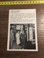 ANNEES 60 PUBLICITE SAINT JACQUES TOURCOING STAND EXPOSITION GEL FRUITS - Alte Papiere