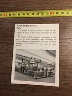ANNEES 60 PUBLICITE TOUR EIFFEL BONBONS CREME DE CASSIS PARIS STAND EXPOSITION - Alte Papiere