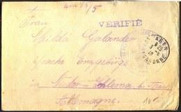 FRANCE - WW1 - POWs GERMANS - 1916 - WW1