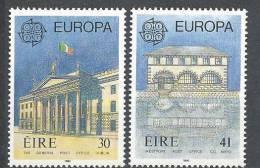 Irlande 1990 N°721/722 Neufs ** Europa Bâtiments Postaux - Neufs