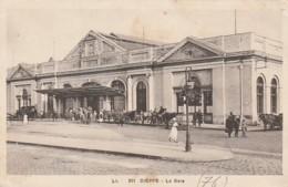 ***  76  ***  DIEPPE La Gare - TTB écrite - Dieppe